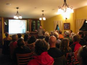 """February 25th Movie Night at the French Garden Restaurant: """"The Power of Community"""""""